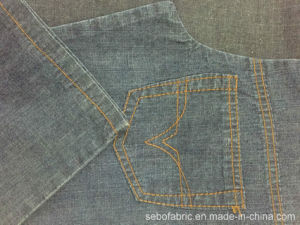 Two Way Slub Denim Fabric