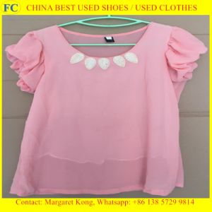 Summer Hot Selling Used Clothes for African Market (FCD-002)