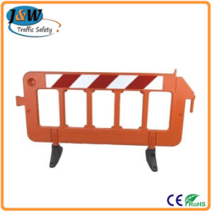 Temporary 2 Meters Plastic Barrier pictures & photos
