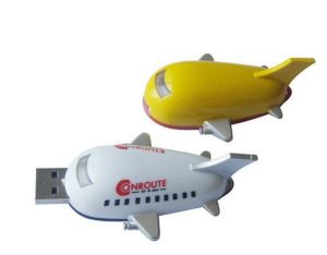 Mini Airplane Shape USB Flash Drive Airplane USB Stick for Promotion pictures & photos