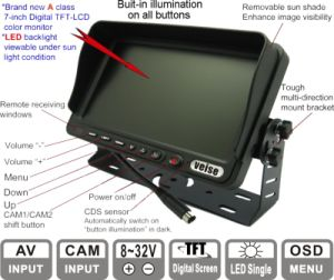 Car Rear View Monitor for All Vehicles pictures & photos
