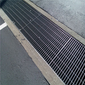 China Steel Grating Stainless Steel Trench Drain Grate