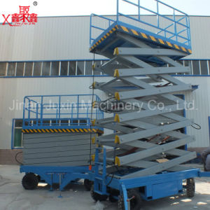 Manual Scissor Lift Platform Hydraulic Scissor Lift pictures & photos