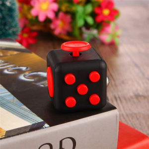 2017 Trending Wholesale 3D Magic Full Color Fidget Cube with High Quality pictures & photos