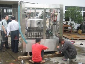 Full Automatic Bottle Juice Hot Filling with Aluminum Foil Sealing Machine pictures & photos