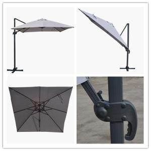 Hz-Um98 10X10ft Square Roma Umbrella Outdoor Umbrella Sun Parasol Beach Umbrella for Garden Umbrella pictures & photos