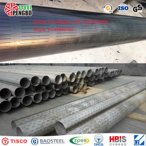 301 304 Hot Rolled Seamless Stainless Steel Pipe pictures & photos