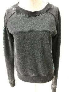 Fashionable Simplicity Fleece Pullover for Women with Burn-out pictures & photos