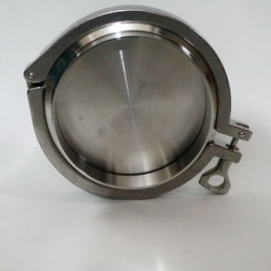 Stainless Steel Triclamp Blank with Small Hole