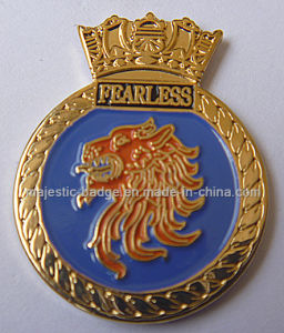 Customize Gold Plating Lapel Pin (MJ-PIN-150) pictures & photos