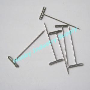32mm Sewing Supplies Taxidermy Stainless Steel T Shape Head Pins