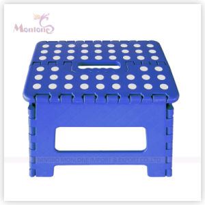Kids Foldable Stool, Plastic Folding Step Stool for Outdoor Camping pictures & photos