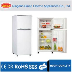 Double Door Top Freezer No Frost Refrigerator with Ice Maker pictures & photos