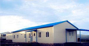 Prefab/Prefabricated/Modular for Office Being Used on Indonesia Coal Project Site-Inside View pictures & photos