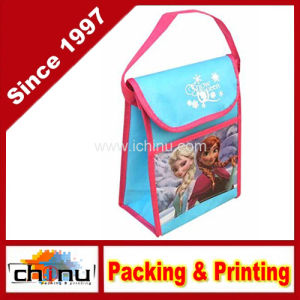 Non Woven Vertical Lunch Bag with Hangtag (920069) pictures & photos