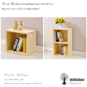 Hongdao Custom Small Wall Hanging Wooden Bookshelves Wholesale_L pictures & photos