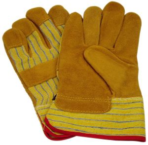 Working Leather Gloves with CE Approval (SQ-004) pictures & photos