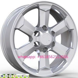 18*8.0j Aluminum Replica Alloy Wheel Toyota Wheel Rims 6*139.7 pictures & photos