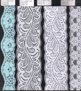 Different Width Stretch Raschel Lace Trim (with oeko-tex certification W700130) pictures & photos