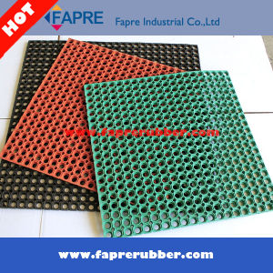 china anti-fatigue rubber mat/oil proof rubber kitchen floor mat