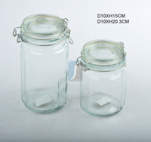 2015 China Supplier Glass Food Storage Jar, Glass Mason Jar with Cheap Price pictures & photos