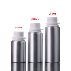 Aluminum Cosmetic Essential Oil Bottle with Tamper Evident Cap (NAL02) pictures & photos