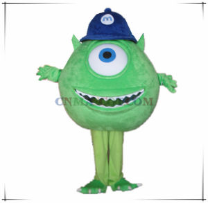 Monster University Mike Wazowski Cartoon Costume Mascot Top Quality