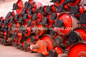 Belt Conveyor Component -- Pulley with Rubber Casting pictures & photos
