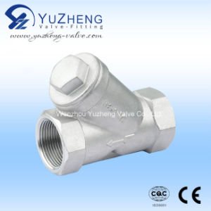 Stainless Steel Y Type Thread Strainer pictures & photos