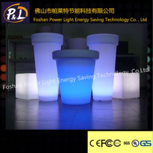 Rechargeable Colorful Garden LED Flowerpot pictures & photos