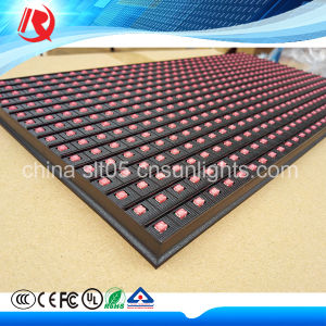 High Quality LED P10 SMD Single Red Color LED Display Module pictures & photos