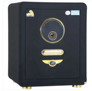 New Black Fingerprint Steel Safe for Office Home Use pictures & photos