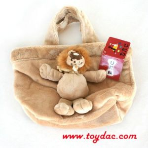Plush Kids Lion Bag pictures & photos