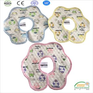 100% Cotton Bibs with Printed in 4 PCS Per Set for New Born Baby pictures & photos