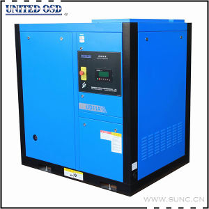 Industrial Electric VFD Variable Frequency Screw Air Compressor