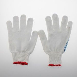 13 Gauge Nylon Cotton Gloves pictures & photos