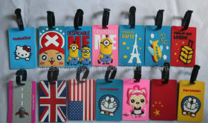 Wholesale Cheap Bulk Custom Made Rubber PVC Luggage Tags pictures & photos