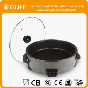 40cm 42cm Cheap Round Electric Non-Stick Pizza Pan Frying Pan