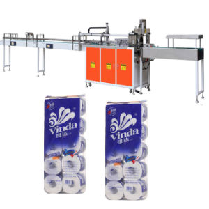 Automatic Toilet Paper Rolls Bundler Packing Machine pictures & photos