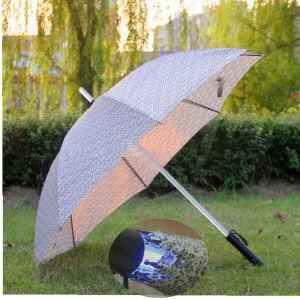 Colorful Creative Flashing Outdoor Straight LED Umbrella