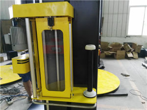Auto Stretch Film Wrapping Machine with Top Sheet Dispenser pictures & photos