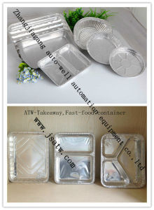 Hot-Sale Rectangular Aluminum Foil Container pictures & photos