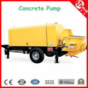40m3/H Concrete Pumps, Concrete Pump with Pipeline pictures & photos
