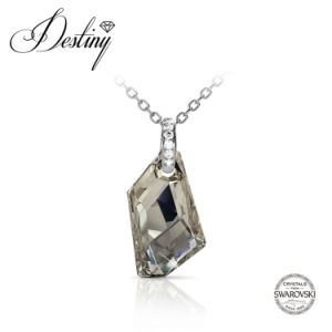 Destiny Jewellery Crystal From Swarovski Silver Knight Pendant & Necklace
