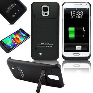 3800mAh External Battery Power Bank Charging Case for Samsung Galaxy S5 pictures & photos