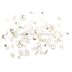 Manicure Nail Art Beauty Alloy Ring Decoration Products (D51) pictures & photos