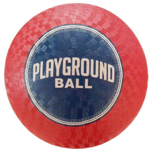 Rubber Material Playground Ball pictures & photos