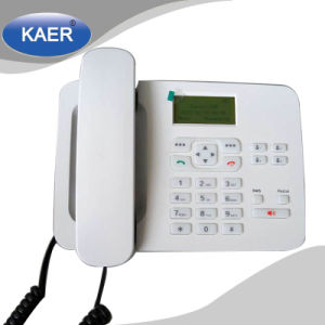 GSM Fixed Wireless Desk Phone (KT1000-180C) pictures & photos