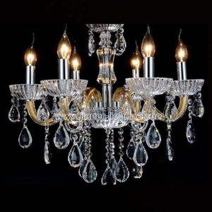 Design Europe Crystal Chandelier Pendant Lighting Without Shades pictures & photos