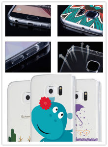 Custom Printed TPU Cellphone Cover/Case for Samsung Galaxy S6 pictures & photos